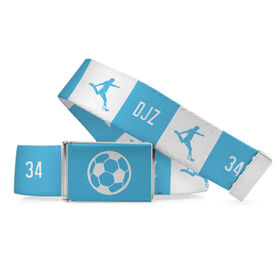 Soccer Lifestyle Belt Personalized Boy