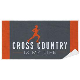 Cross Country Premium Beach Towel - My Life (Male)