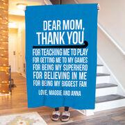 Field Hockey Premium Blanket - Dear Mom