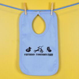 Future Triathlete Baby Bib