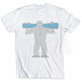 Snowboarding Vintage T-Shirt - Are You Yeti To Snowboard