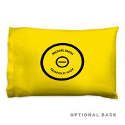 Wrestling Pillowcase - Personalized Mat