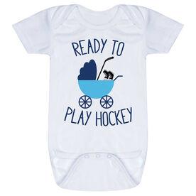 Hockey Baby One-Piece - Ready To Play Hockey