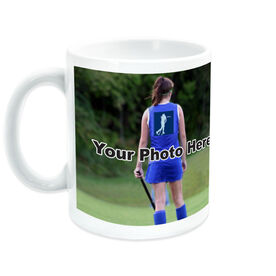 Field Hockey Coffee Mug Thanks Coach Custom Photo