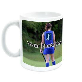 Field Hockey Coffee Mug Thanks Coach Custom Photo