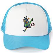Seams Wild Lacrosse Trucker Hat - Dart