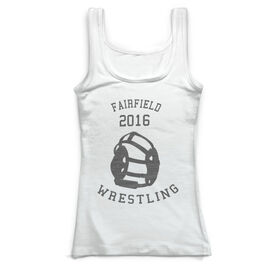 Wrestling Vintage Fitted Tank Top - Wrestle Team