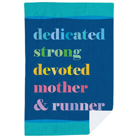 Running Premium Blanket - Mantra Mother Runner