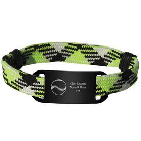 Personalized Baseball Lace Bracelet Ball Adjustable Sport Lace Bracelet