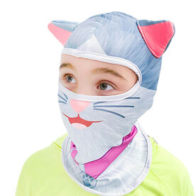 Happy Hatter Cat Balaclava Head Mask