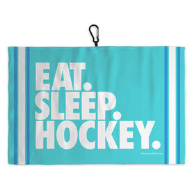 Hockey Skate Towel Eat Sleep Hockey