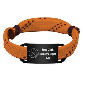 Personalized Basketball Lace Bracelet Ball Adjustable Sport Lace Bracelet