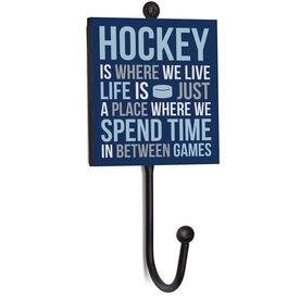 Hockey Medal Hook - Hockey Is Where We Live