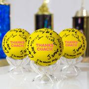 Girls Lacrosse Ball - Thanks Coach Autograph