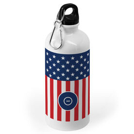 Wrestling 20 oz. Stainless Steel Water Bottle - USA Stars and Stripes
