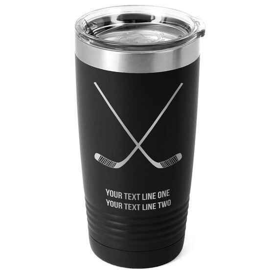 Hockey 20 oz. Double Insulated Tumbler - Crossed Sticks Icon