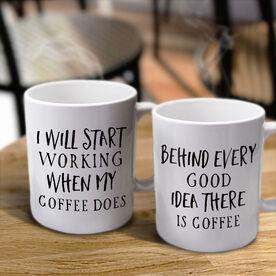 Your Custom Text Personalized Coffee Mug