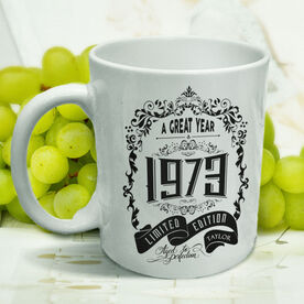 Vintage Wine Label Personalized Mug
