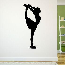 Figure Skater Removable ChalkTalkGraphix Wall Decal