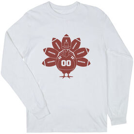 Football Long Sleeve T-Shirt - Turkey Player