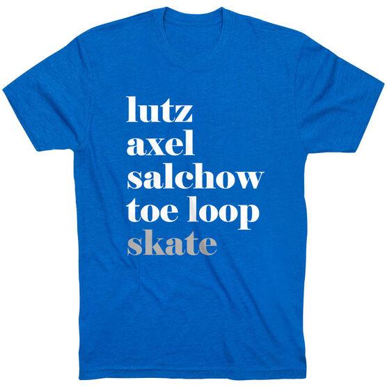 Figure Skating Short Sleeve T-Shirt - Skate Mantra