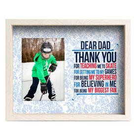 Hockey Premier Frame - Dear Dad