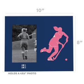 Field Hockey Photo Frame - Player
