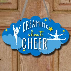 Cheerleading Cloud Sign Dreaming About Cheer
