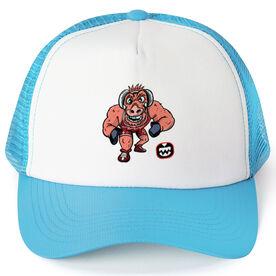 Seams Wild Wrestling Trucker Hat - Rollez