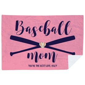 Baseball Premium Blanket - Baseball Mom
