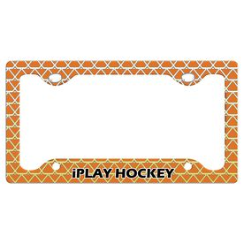 Iplay Hockey License Plate Holder