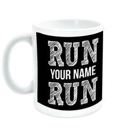 Running Coffee Mug - Run Your Name Run