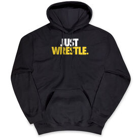 Wrestling Hooded Sweatshirt - Just Wrestle