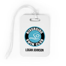 Swimming Bag/Luggage Tag - Custom Logo