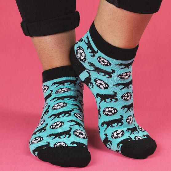 Soccer Ankle Socks - Soccer Dog