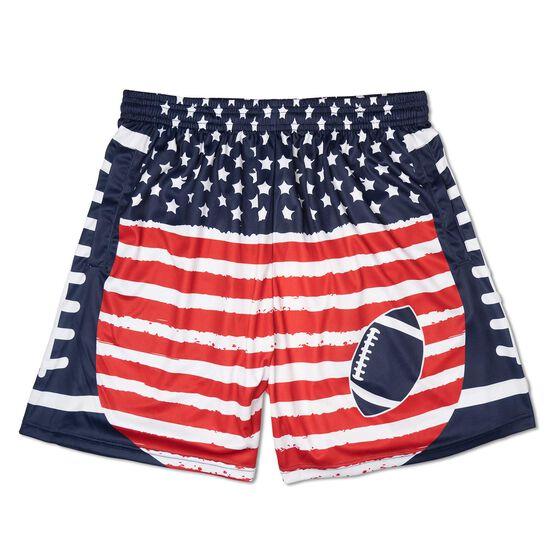 Patriotic Football Shorts