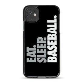 Baseball iPhone® Case - Eat Sleep Baseball