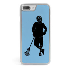 Guys Lacrosse iPhone® Case - We Be Lax'n Silhouette