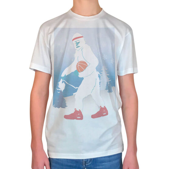 Vintage Basketball T-Shirt - Abominable Snowman