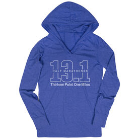 Running Lightweight Performance Hoodie - Half Marathoner 13.1 Miles