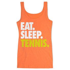 Tennis Women's Athletic Tank Top Eat. Sleep. Tennis.
