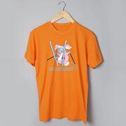 Skiing Tshirt Short Sleeve Ski Bunny