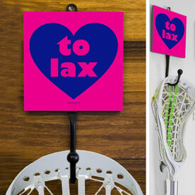 Lacrosse Hook Heart To Lax