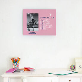 Gymnastics Photo Frame - Mother Words (Girl Gymnast)