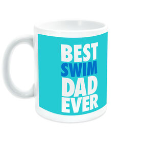 Swimming Coffee Mug Best Dad Ever