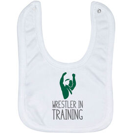 Wrestling Baby Bib - Wrestler In Training