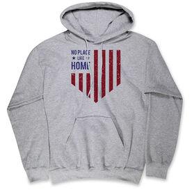 Softball Hooded Sweatshirt - No Place Like Home