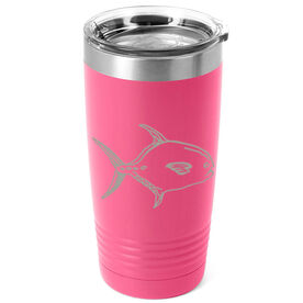 Fly Fishing 20 oz. Double Insulated Tumbler - Permit Flats