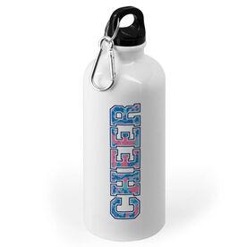 Cheerleading 20 oz. Stainless Steel Water Bottle - Floral