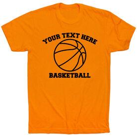 Custom Basketball T-Shirt Short Sleeve